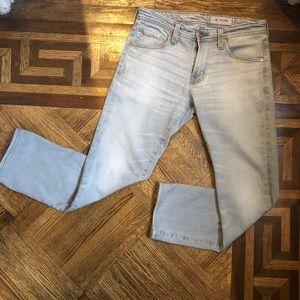 AG Matchbox Slim Straight Grey Jeans